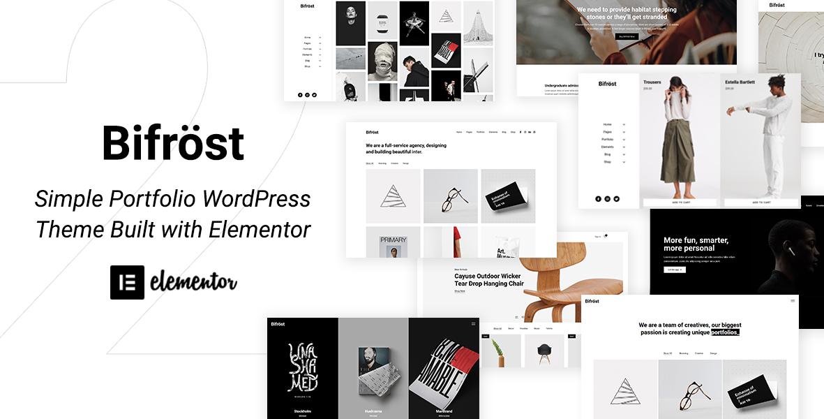 Bifrost: #1 Simple Elementor WordPress Theme | NeuronThemes