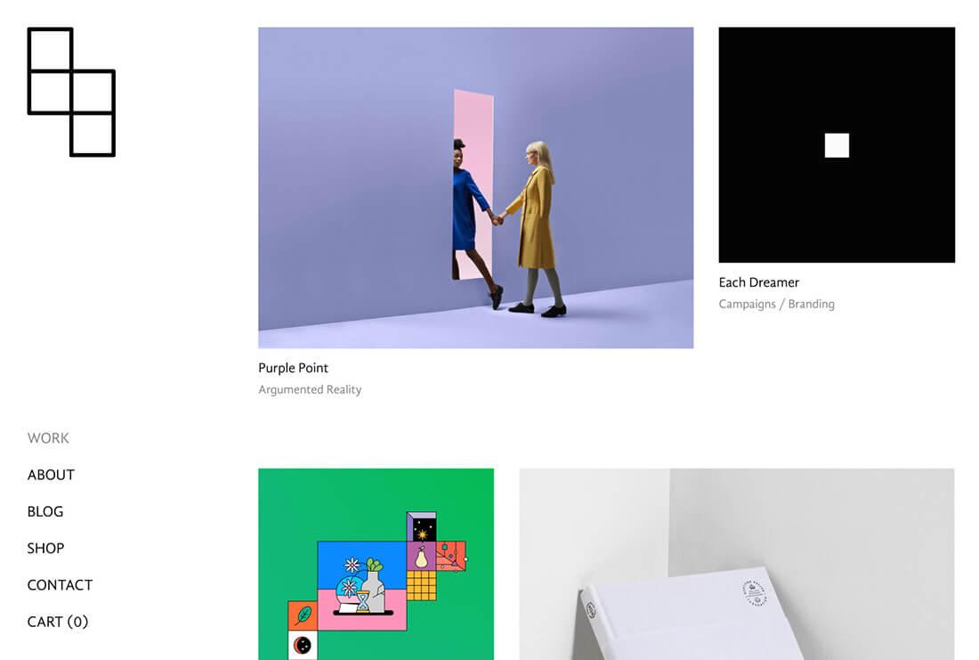 Aria - Portfolio & Agency Demo Site