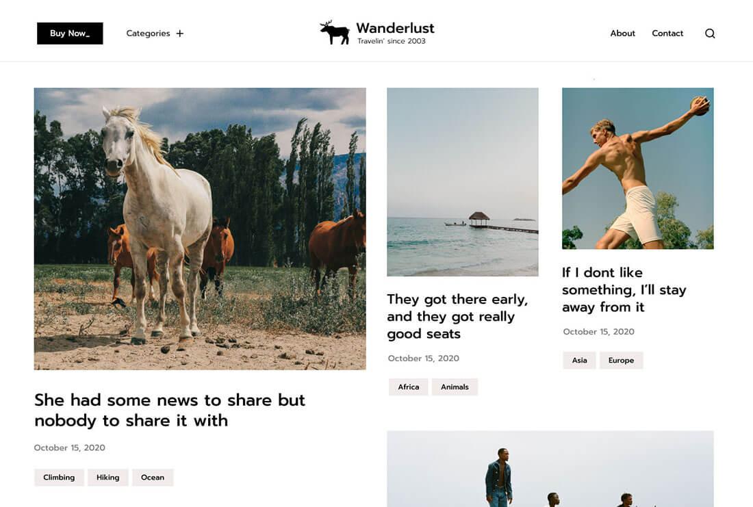 Wanderlust - A Captivating Traveler