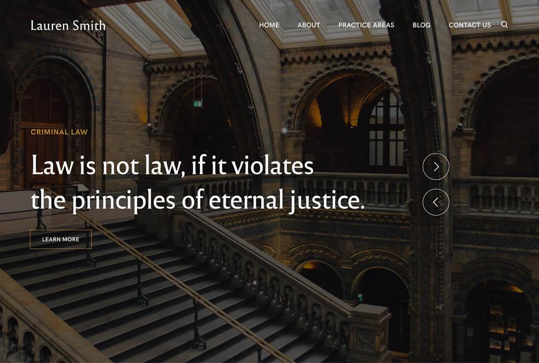 Lauren Smith - Lawyer Attorney