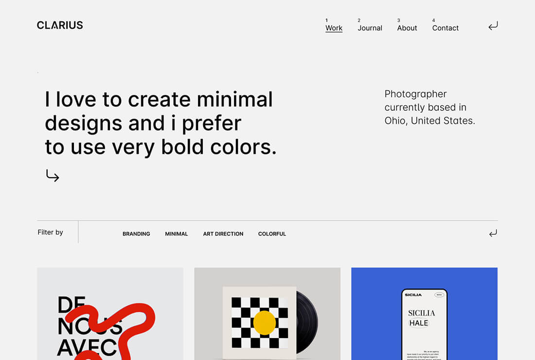Clarius - Creative Agency