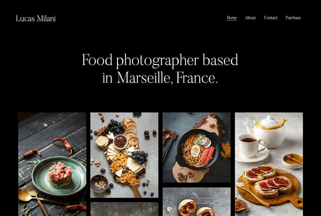 Lucas Milani - Professional Food Photographer