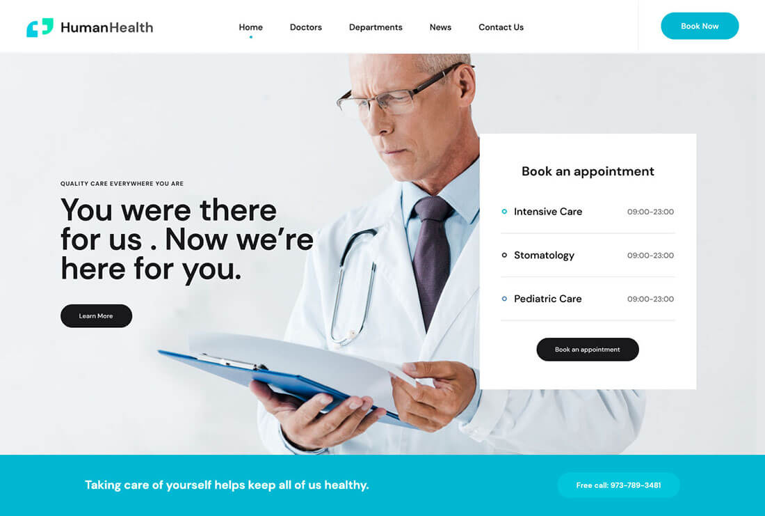Human Health - Medical and Healthcare Site