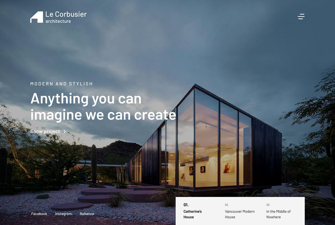 Le Corbusier Studio - Architecture & Interior Design