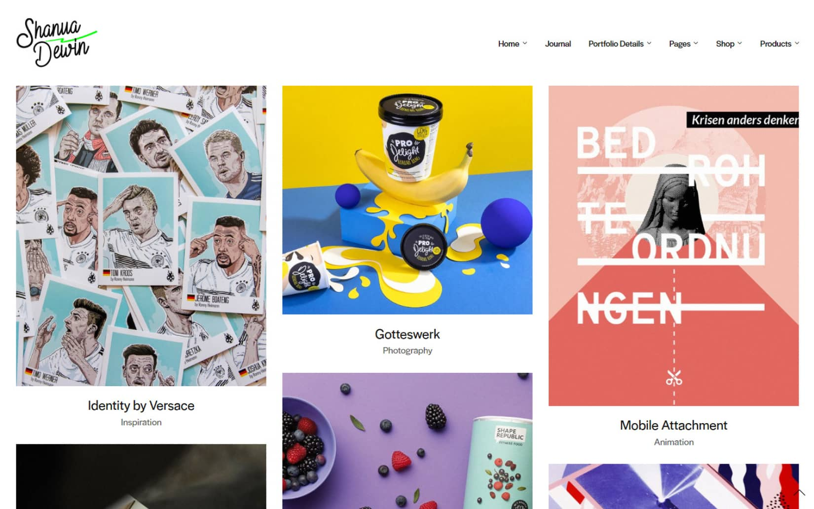 Best Minimal WordPress Themes - Notio Creative Portfolio Theme