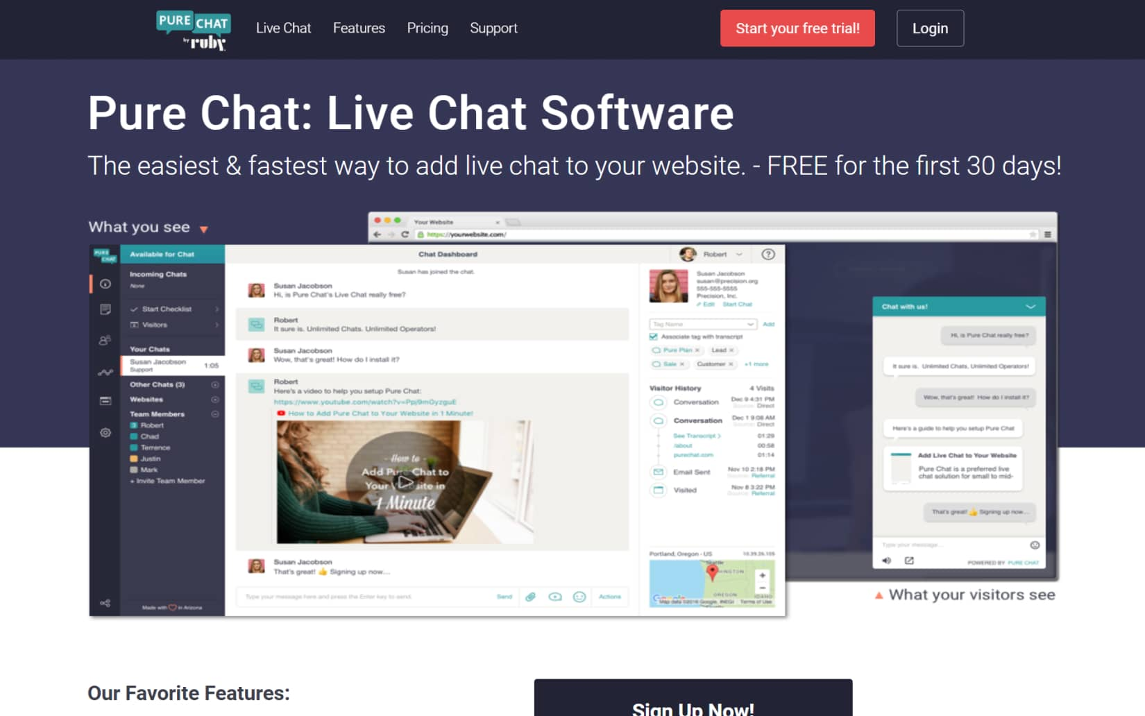 Best Live Chat for your website