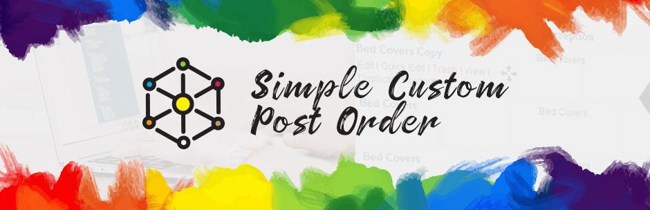 Simple-Custom-Post-Order-wordpress-plugin