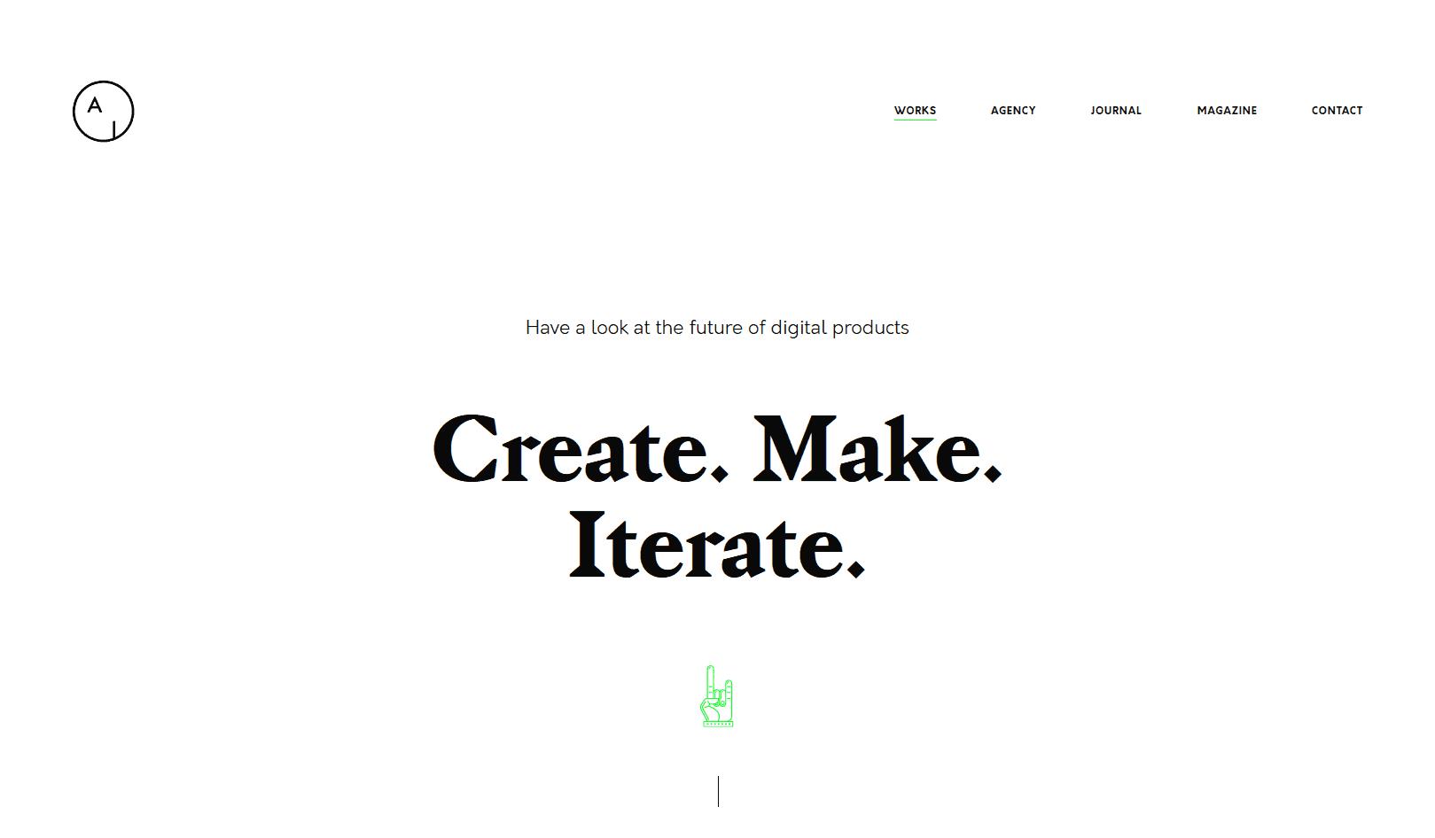 WP-Airtifact-minimal-theme-display