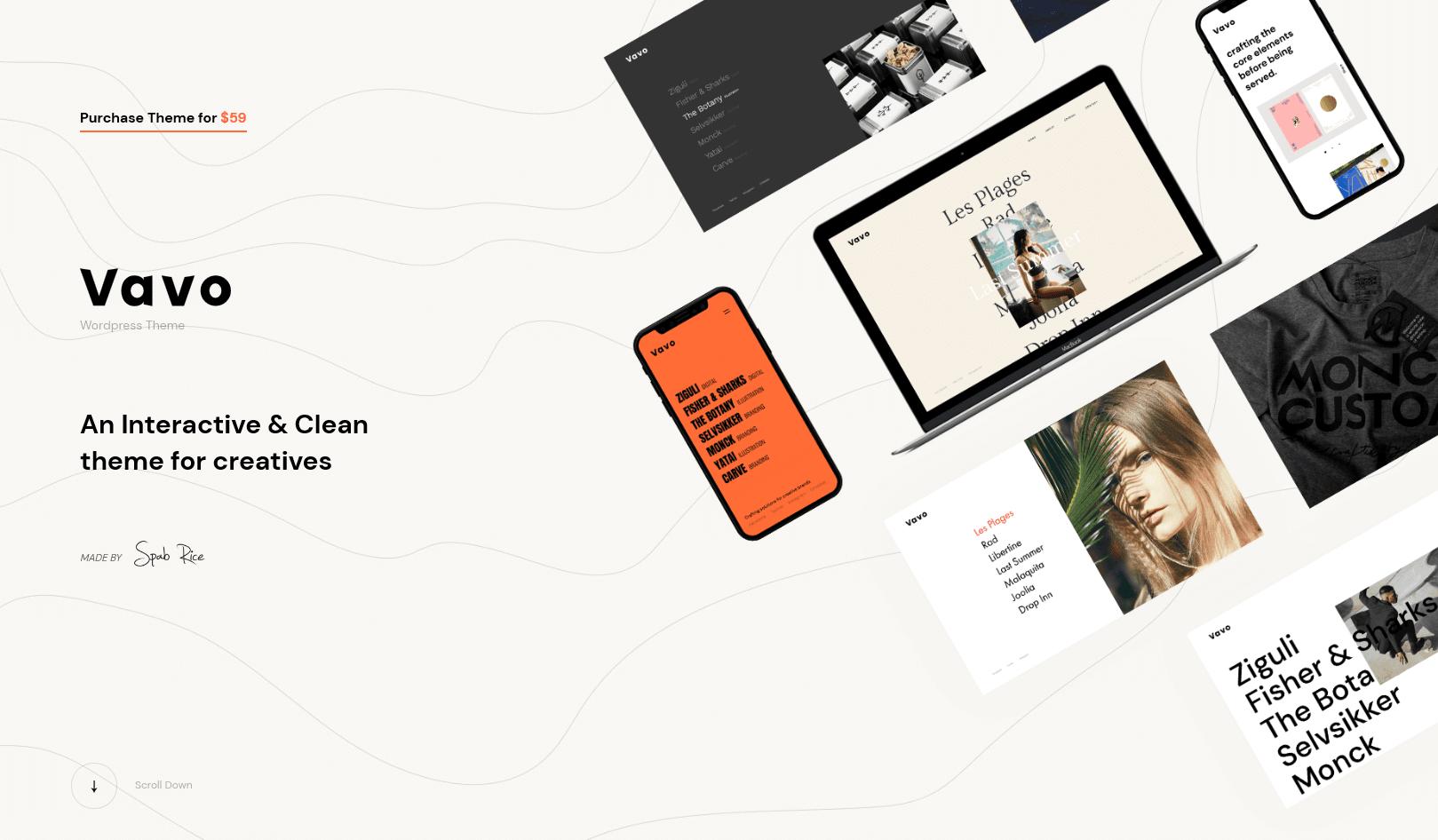 WP-Vavo-minimal-theme