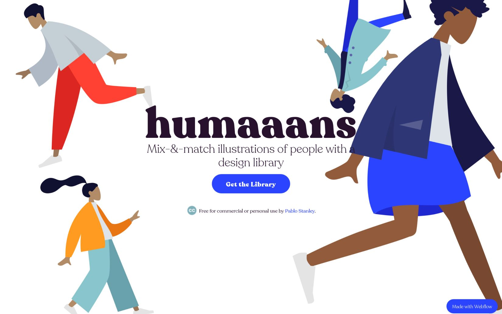 best online sources for downloading free illustrations Humaaans