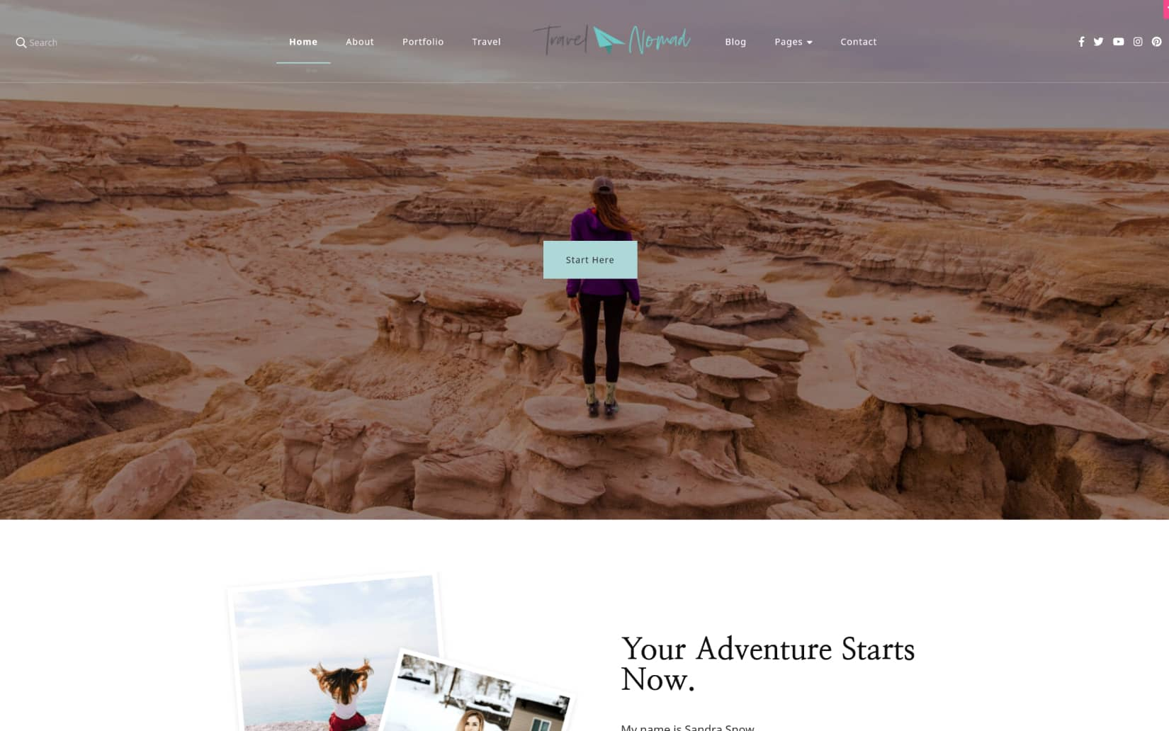 Best and minimal free travel WordPress Themes