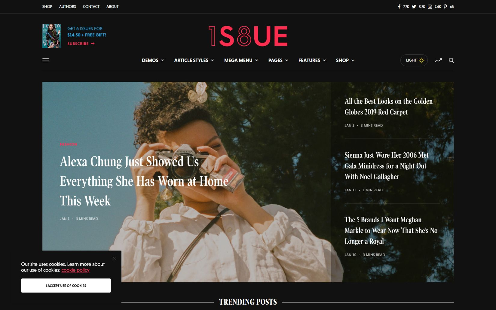 Best WordPress Themes for Blog and Magazine websites