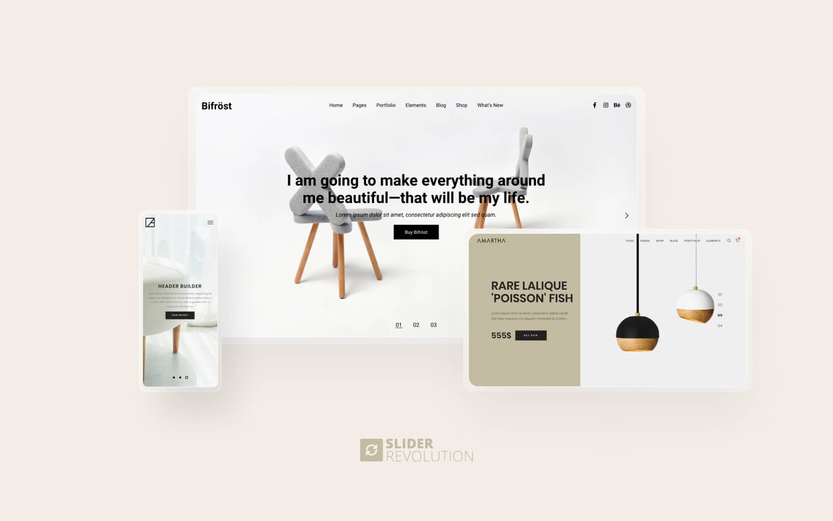 Responsive design in sliders with Slider Revolution