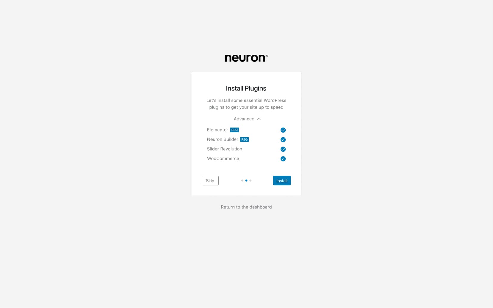 How to install Slider Revolution with Neuron Themes