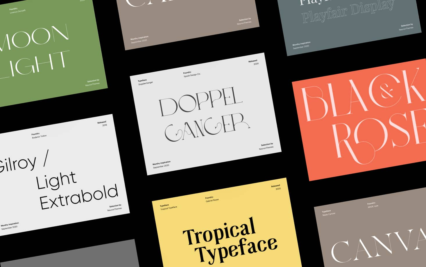Best Display Fonts to Download for Free