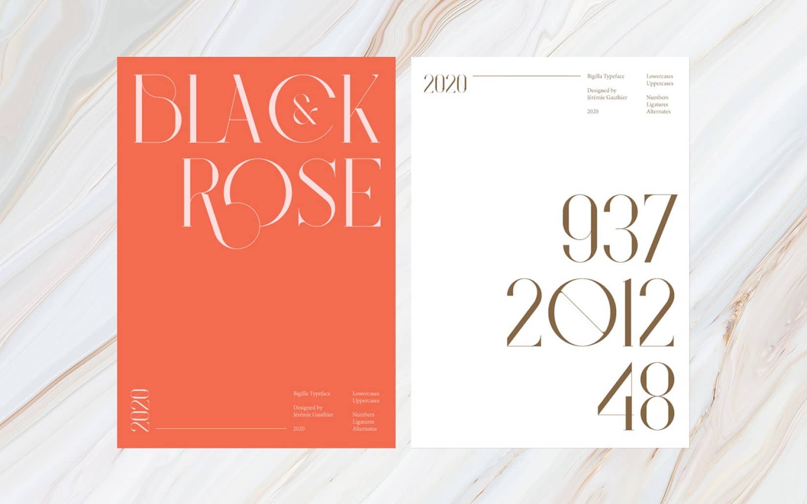 Best Free Display Fonts Bigilla Typeface