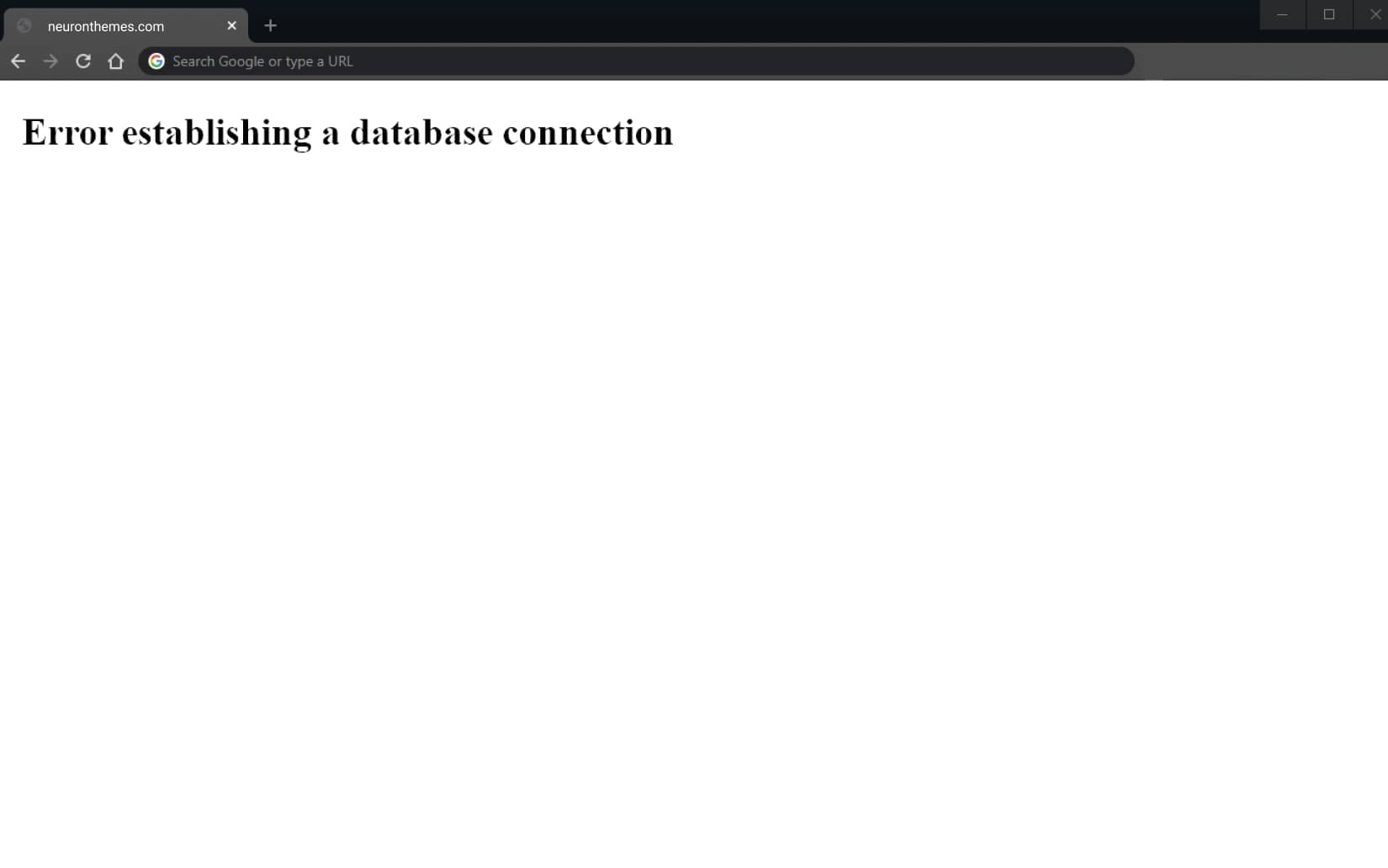 How to Fix the Error Establishing a Database Connection in WordPress 1