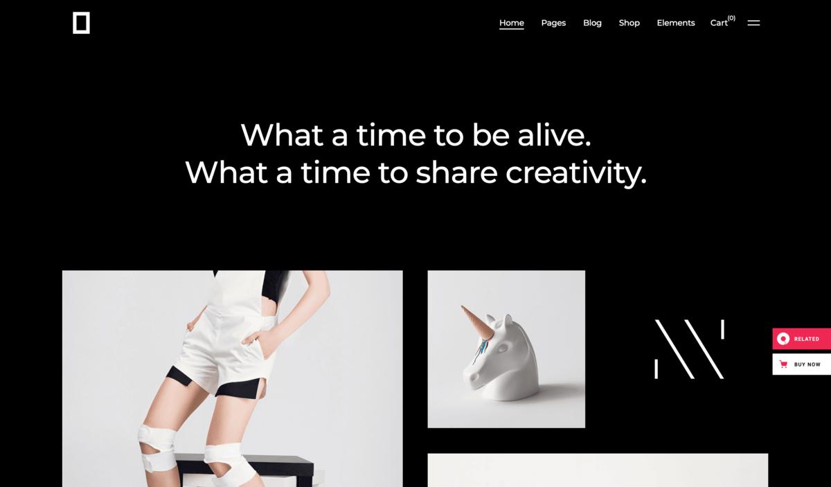 okami portfolio theme