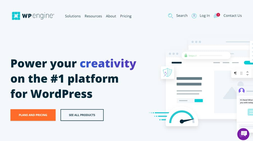 WP Engine - Best Caching Hosting Providers for WordPress