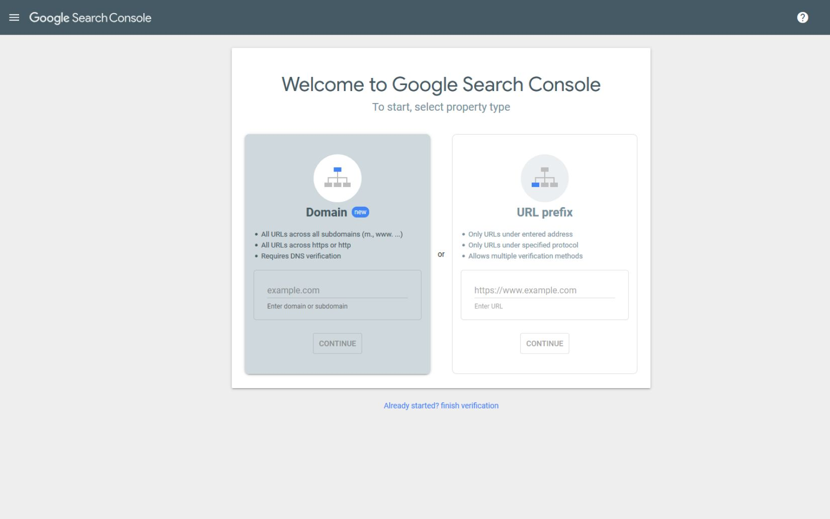 post how to add search console 3