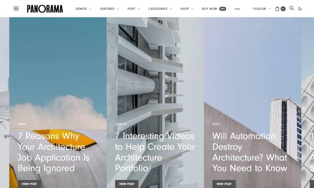 Authentic Best Blog and Magazine WordPress themes 1
