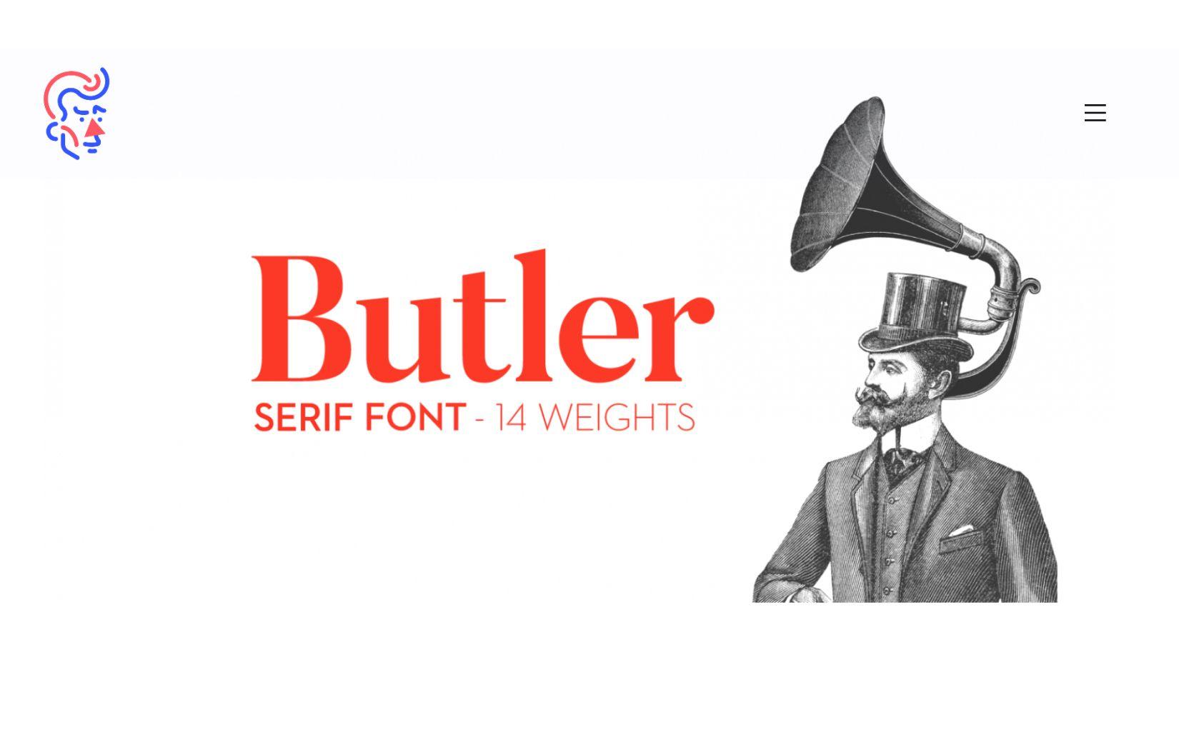 Best Free Sans Serif Fonts Butler