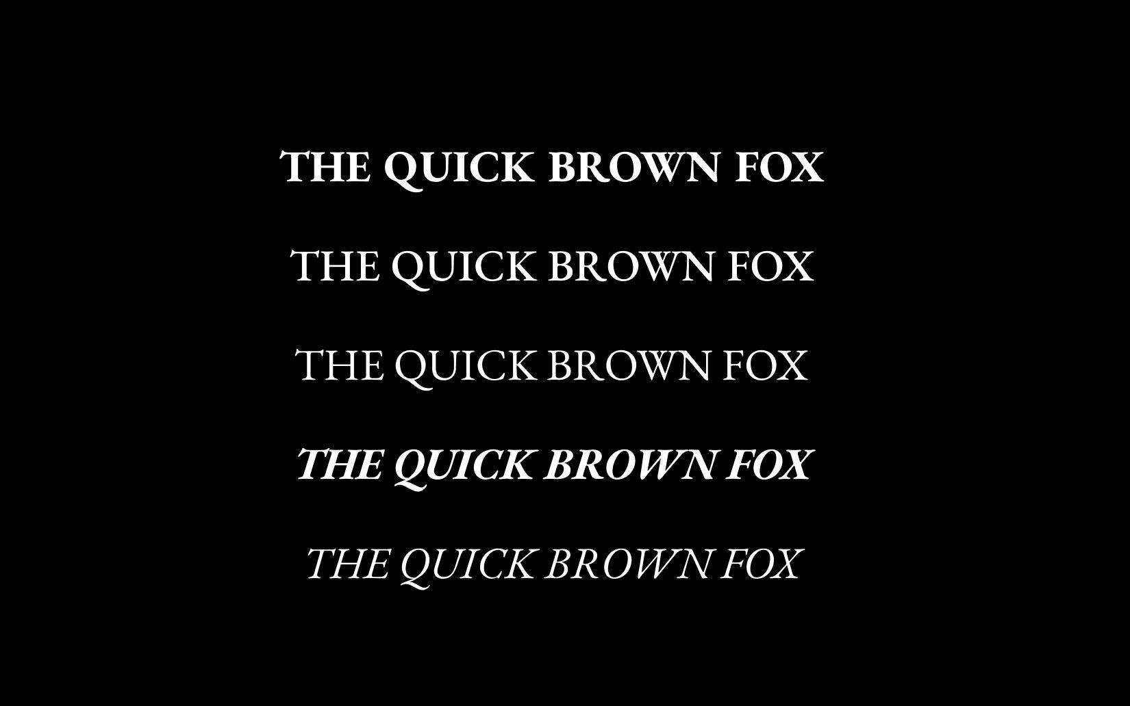 Best Free Sans Serif Fonts EB Garamond