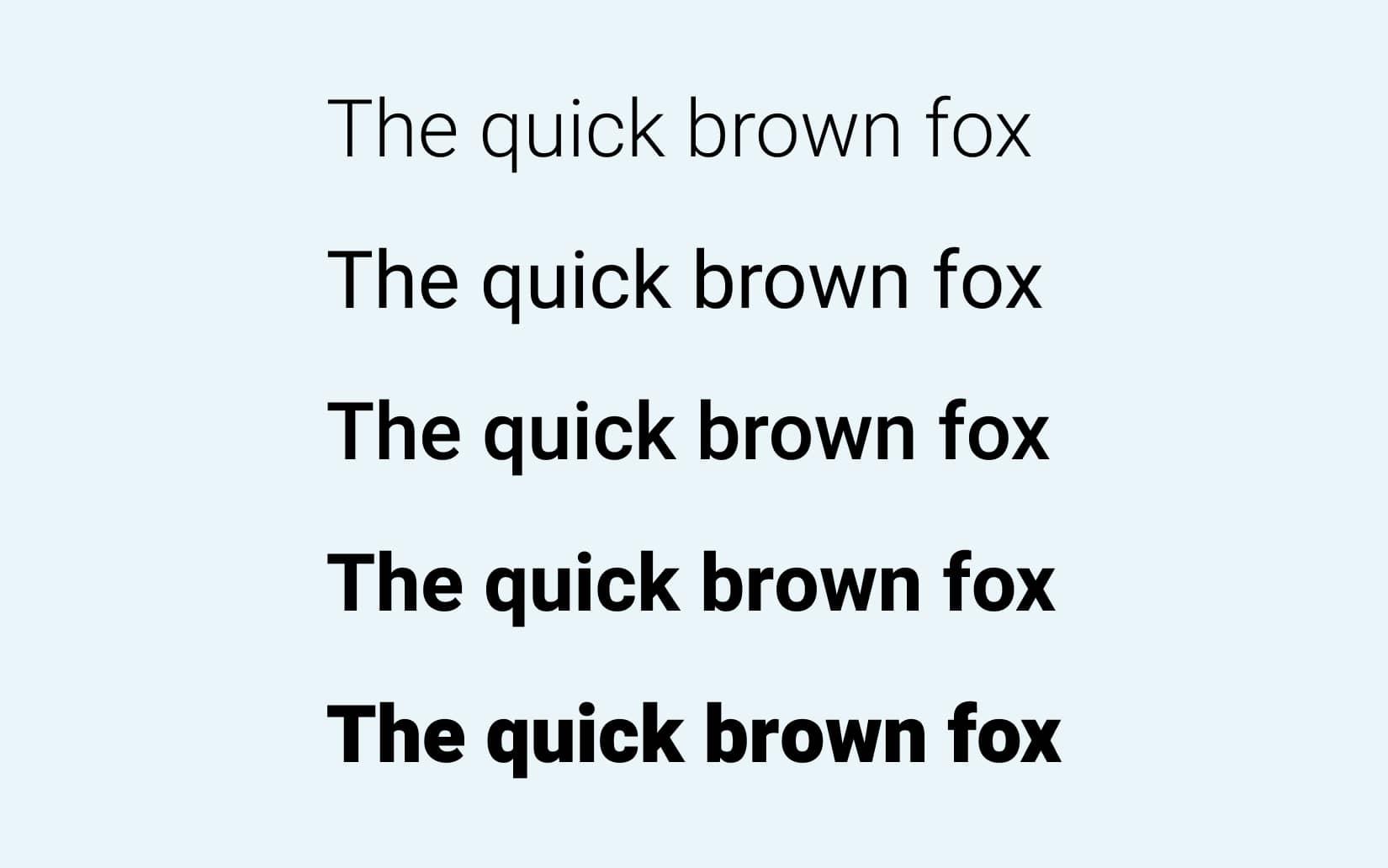Best Free Sans Serif Fonts Heebo