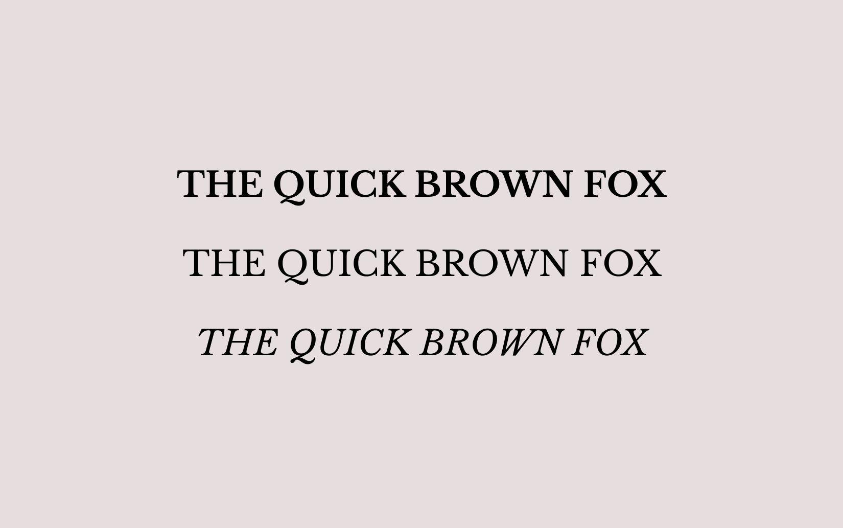 Best Free Sans Serif Fonts Libre Baskerville