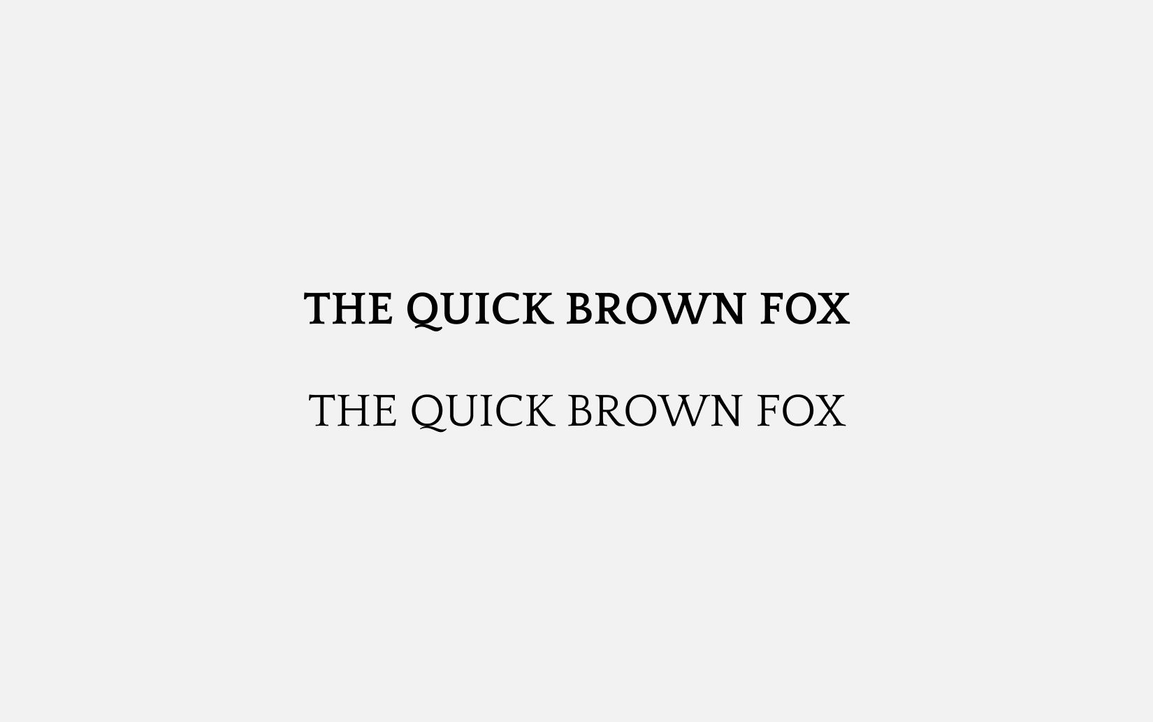 Best Free Sans Serif Fonts Quattrocento