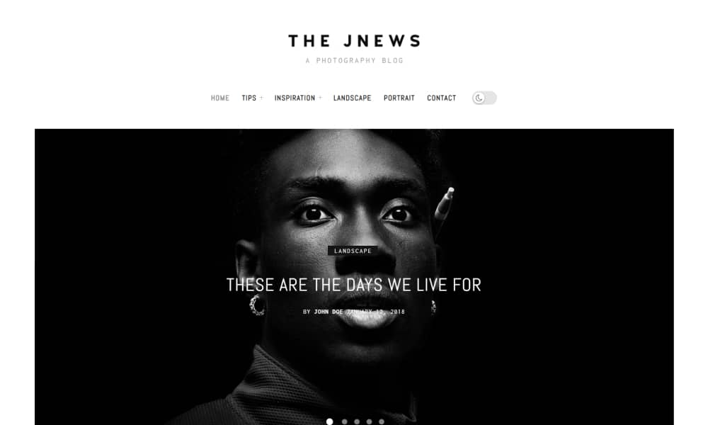 JNews - Best WordPress theme for Blog and Magazine Websites
