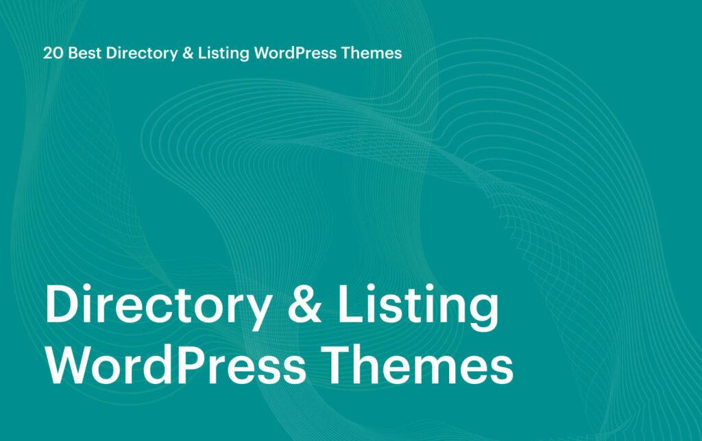 20 Best Directory Listing WordPress Themes