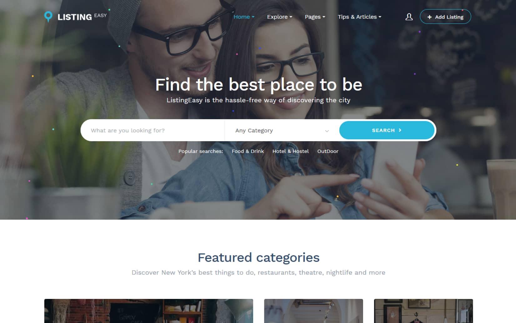 20 Best Directory Listing WordPress Themes ListingEasy Directory Listing