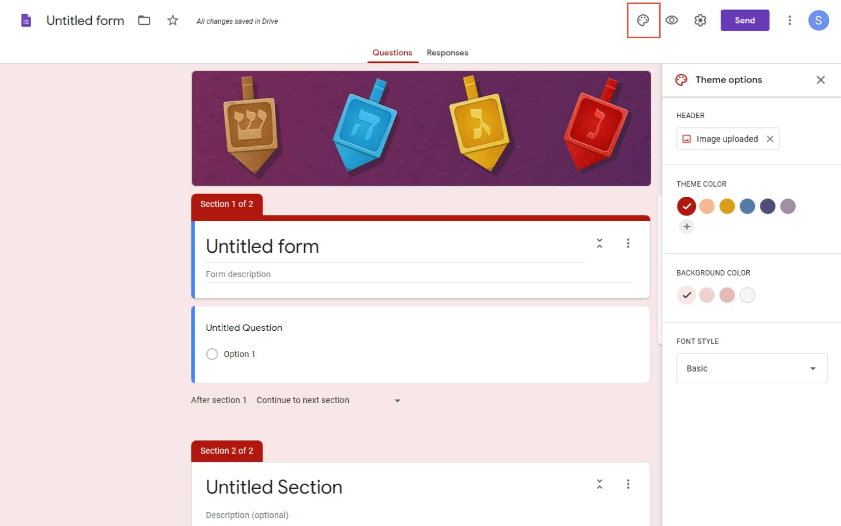 How to Add Google Form to your WordPress Website 5