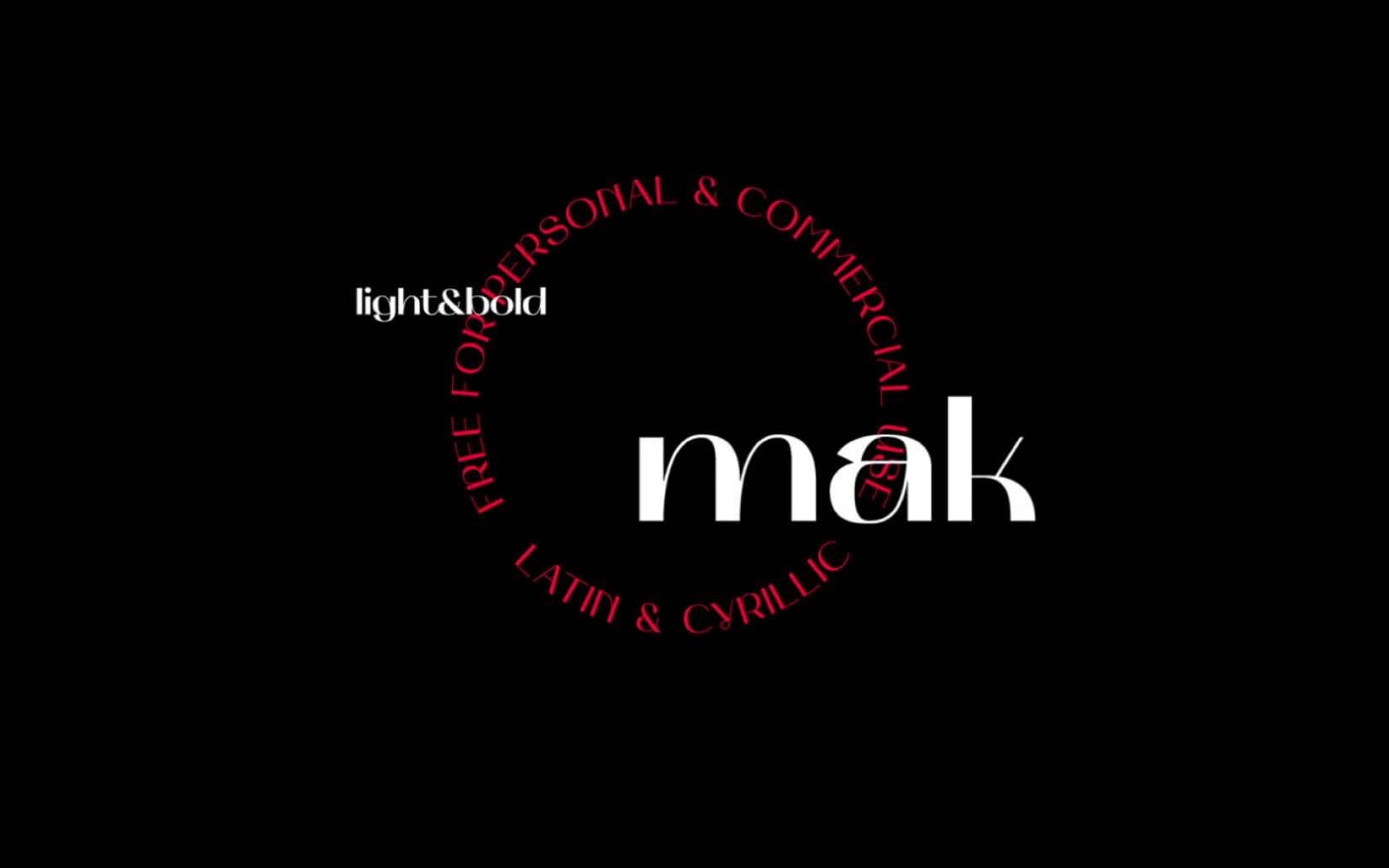 Best Free Display Fonts Mak