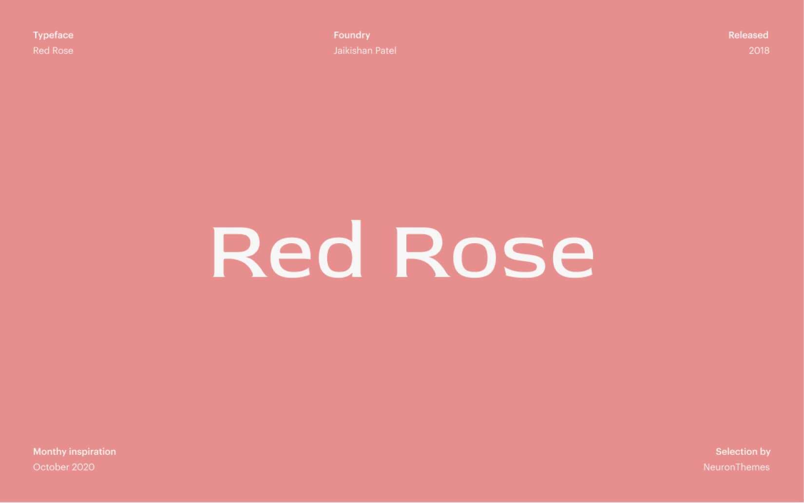 Best Free Display Fonts Red Rose