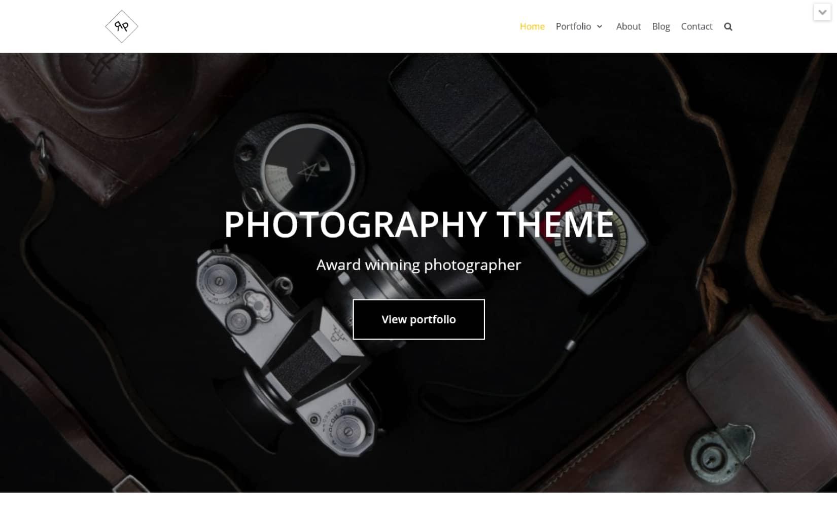 Best Free Portfolio WordPress theme in 2021