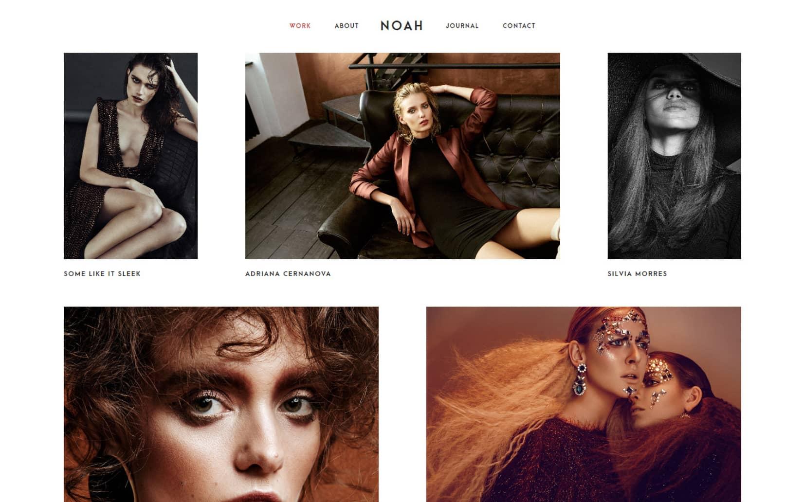 Noah Lite a Free and Minimal Portfolio WordPress Theme