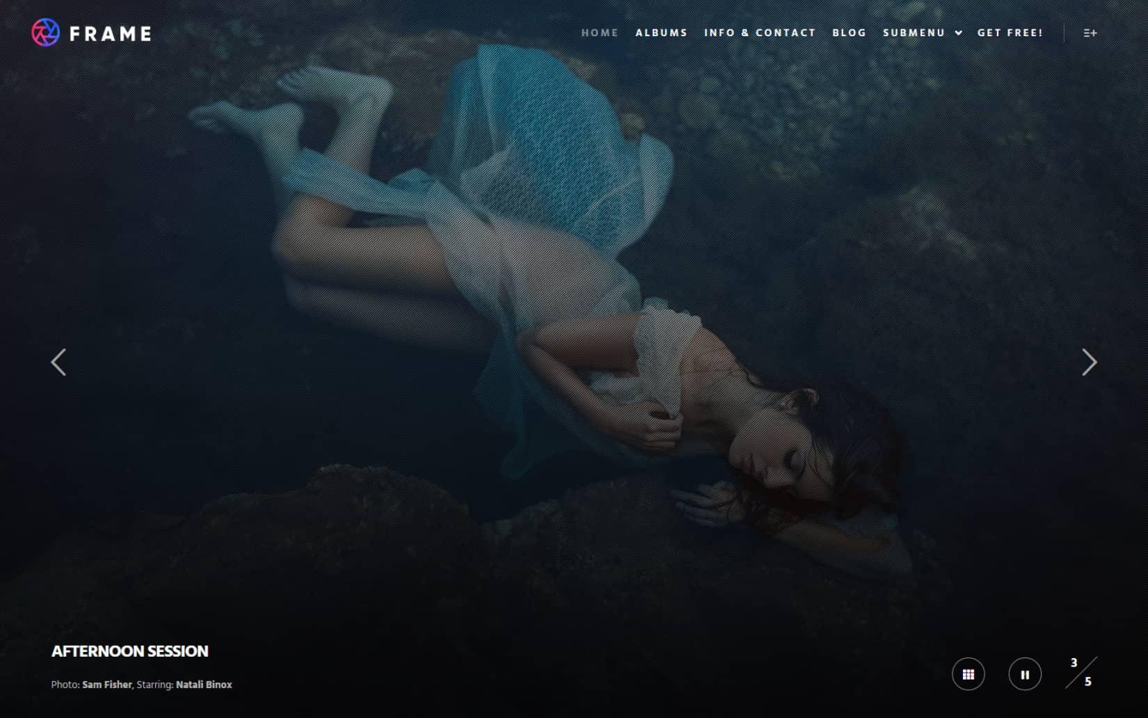 Rife a Free and Minimal Portfolio WordPress Theme