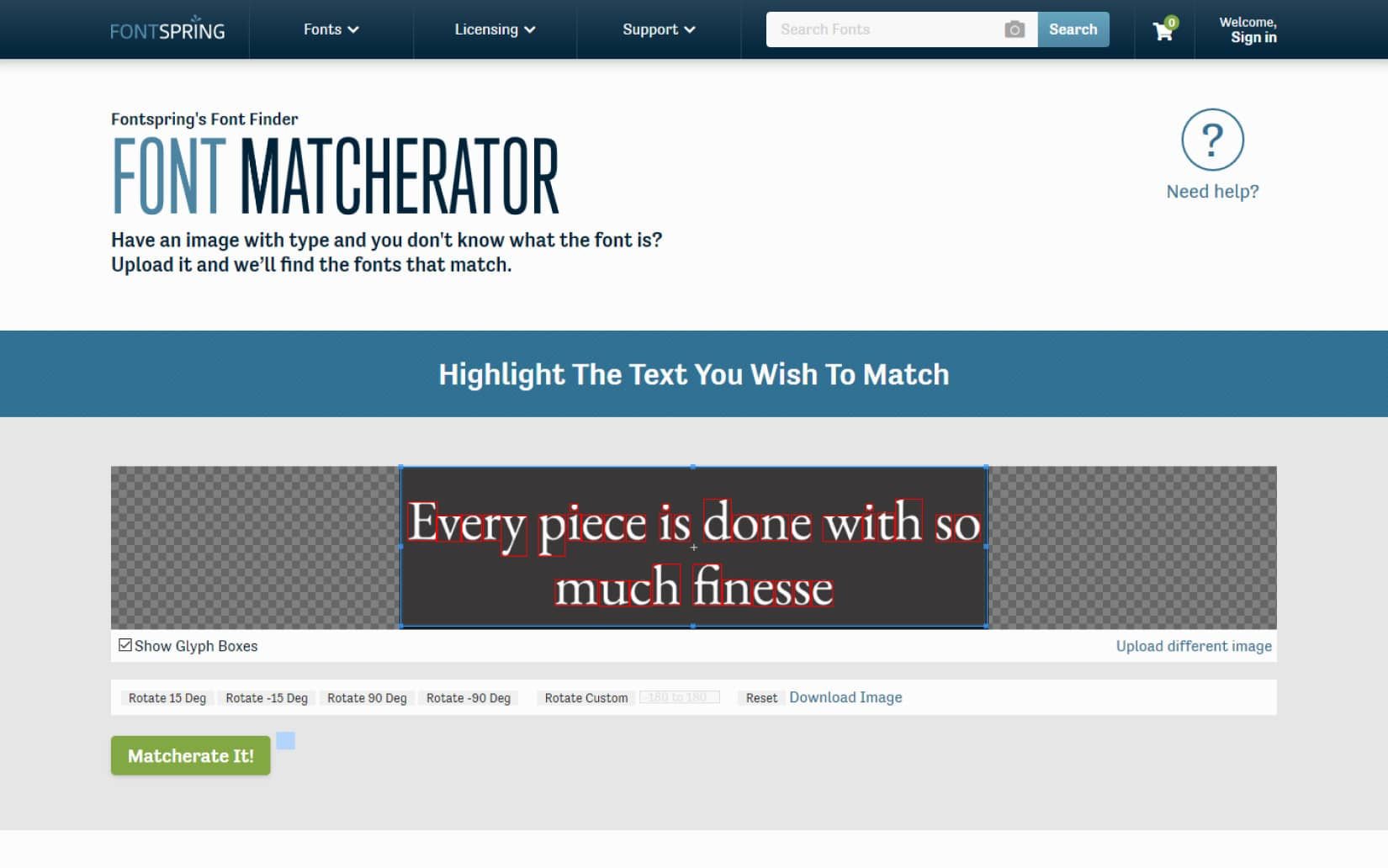 What font is this How to Identify a font 2021 Font Matcherator 2