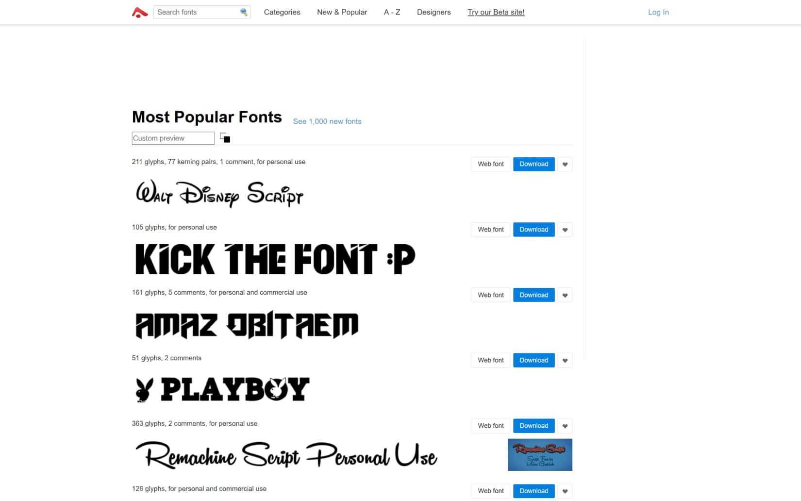Best Resources to Download Free Fonts in 2021 - Abstract Fonts