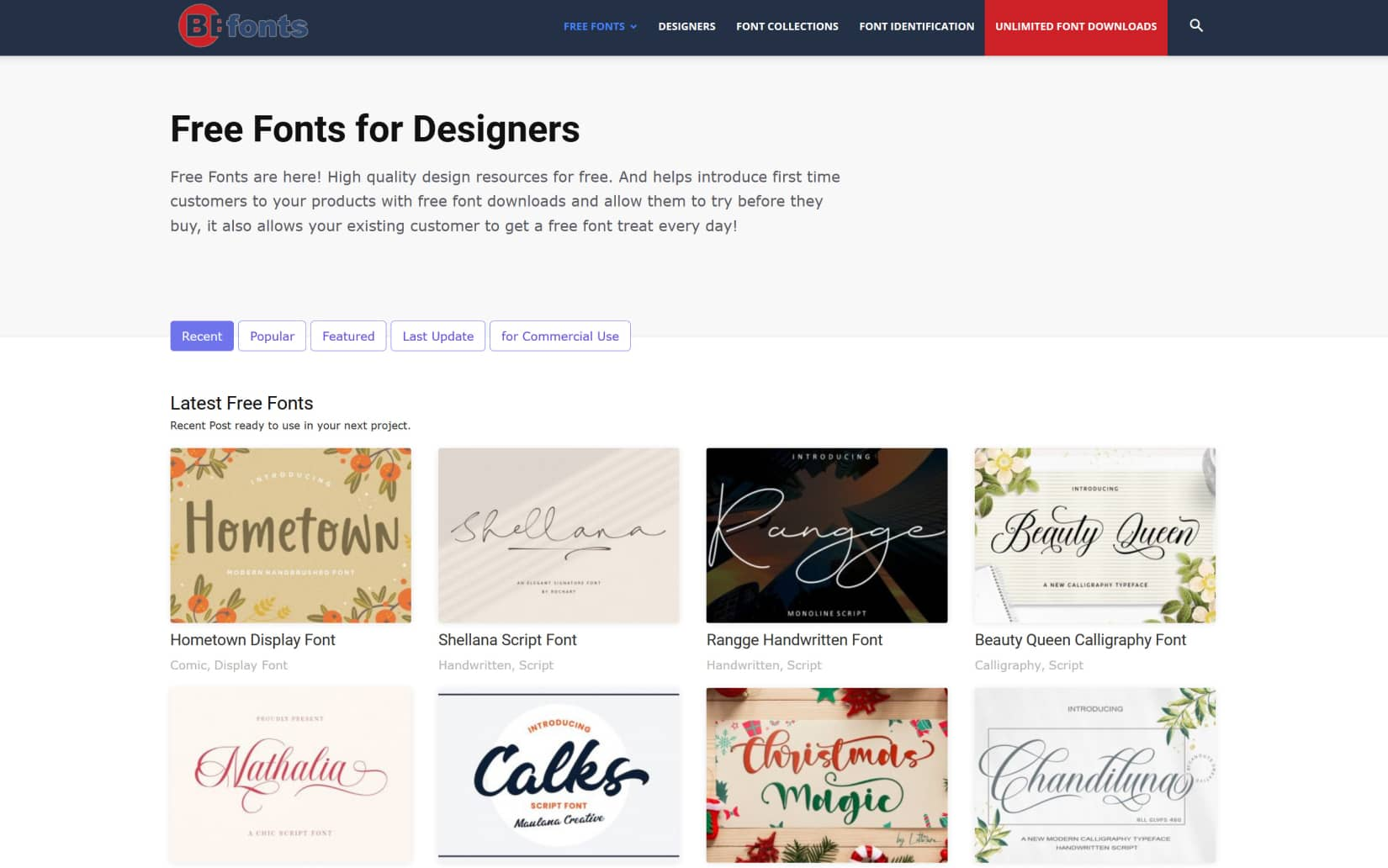 Best Resources to Download Free Fonts in 2021 - BeFonts