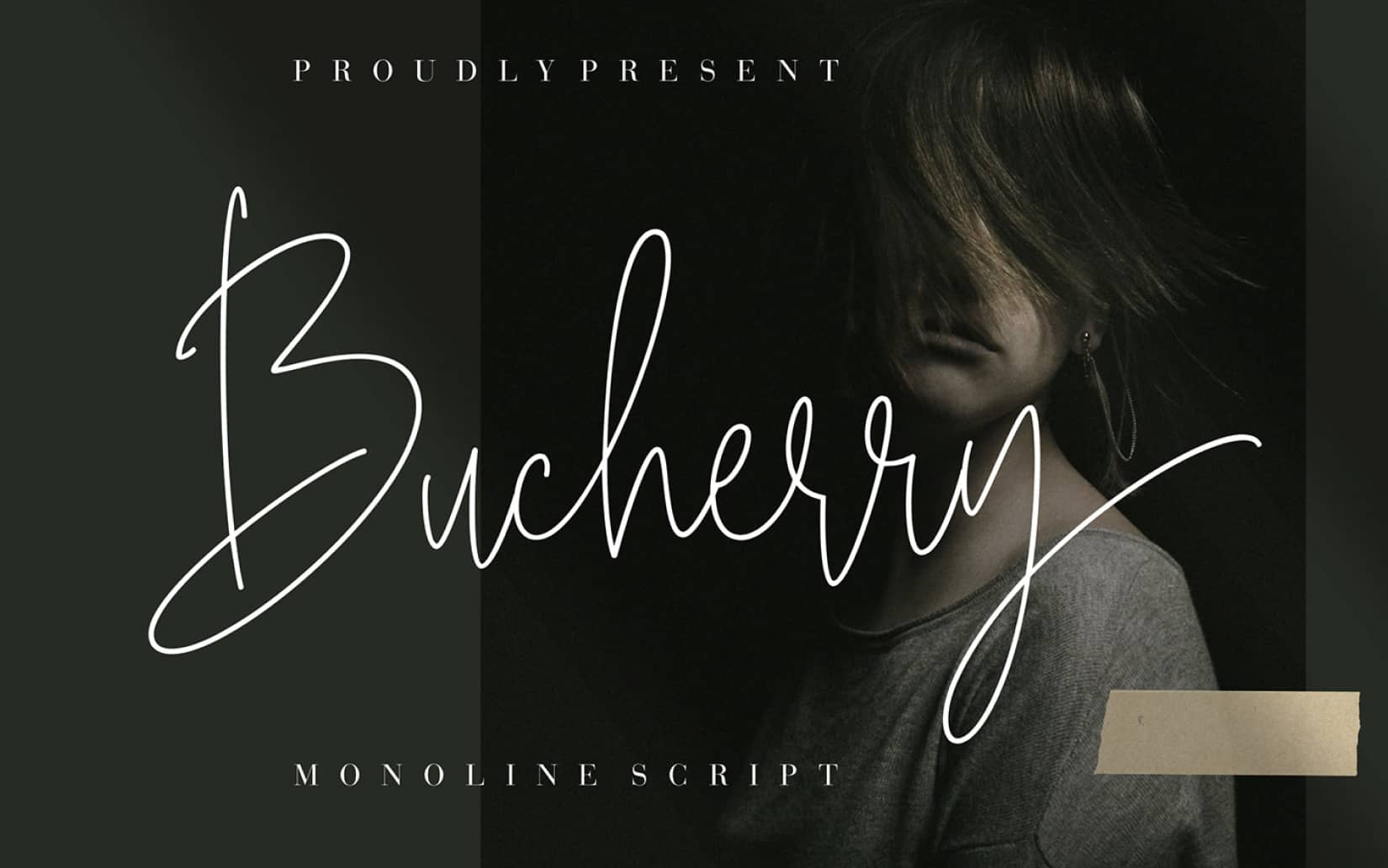 Bucherry Monoline Script Free Font 1