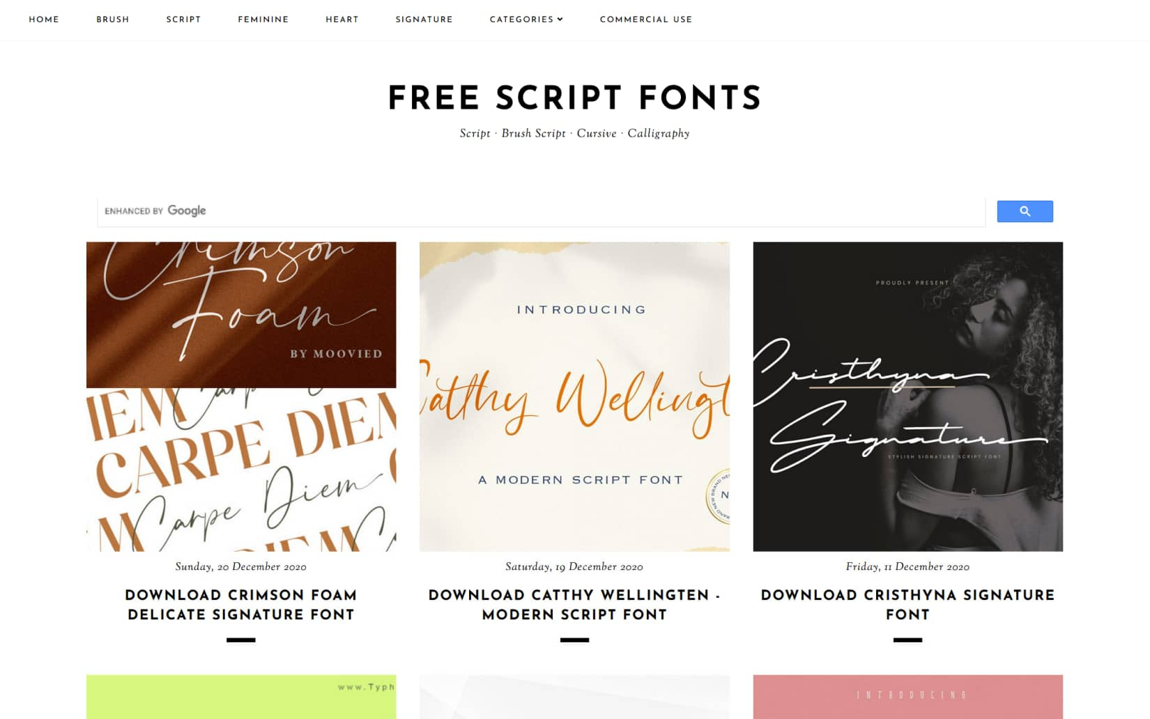 Best Resources to Download Free Fonts in 2021 - Free Script Fonts