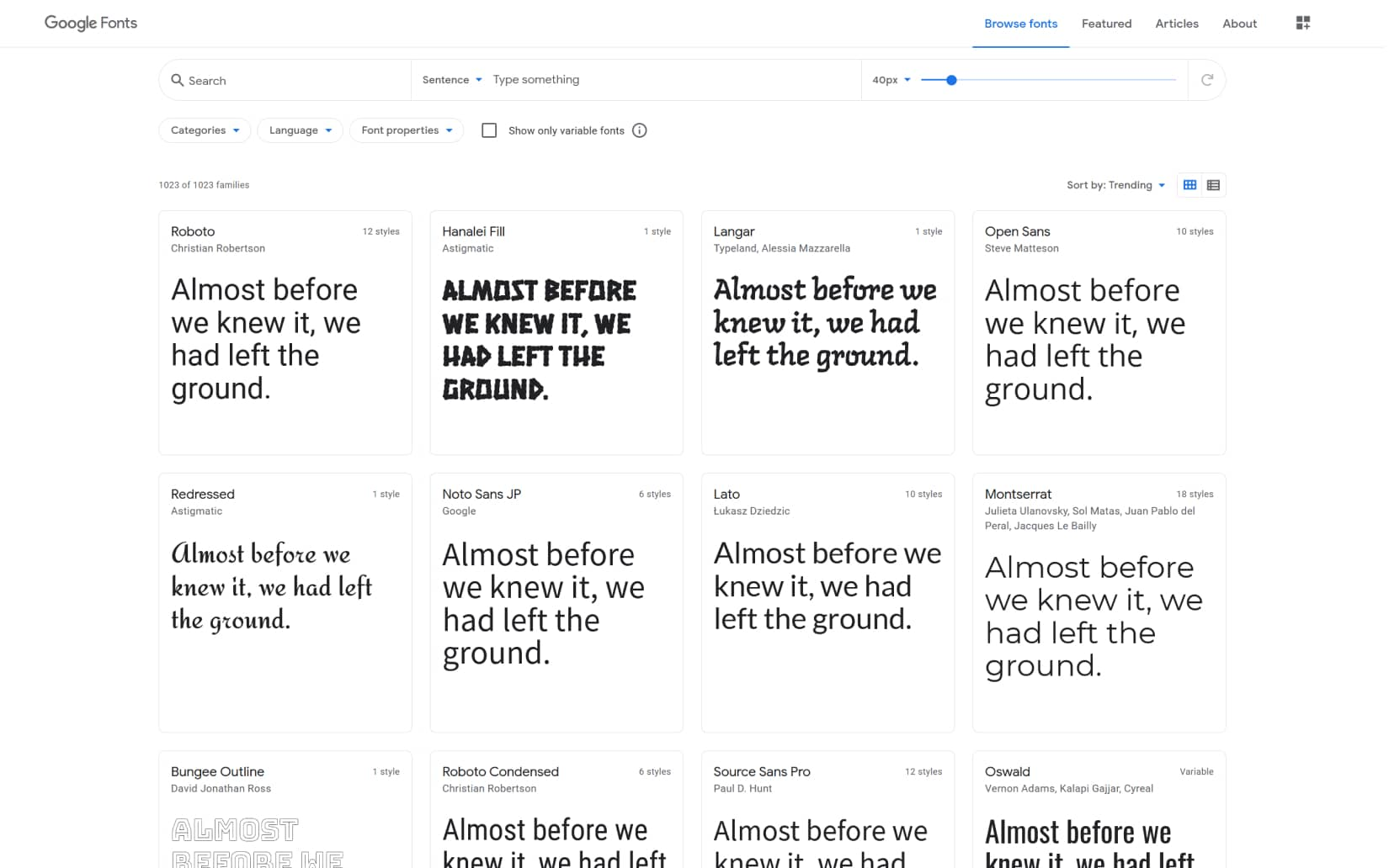 Best Resources to Download Free Fonts in 2021 - Google Fonts