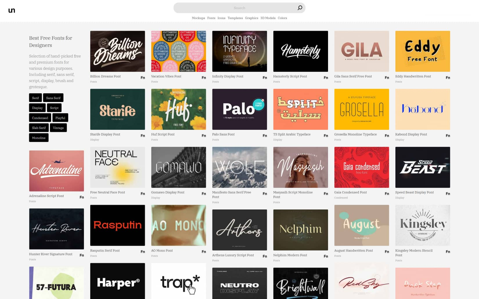 Best Resources to Download Free Fonts in 2021 - Unblast