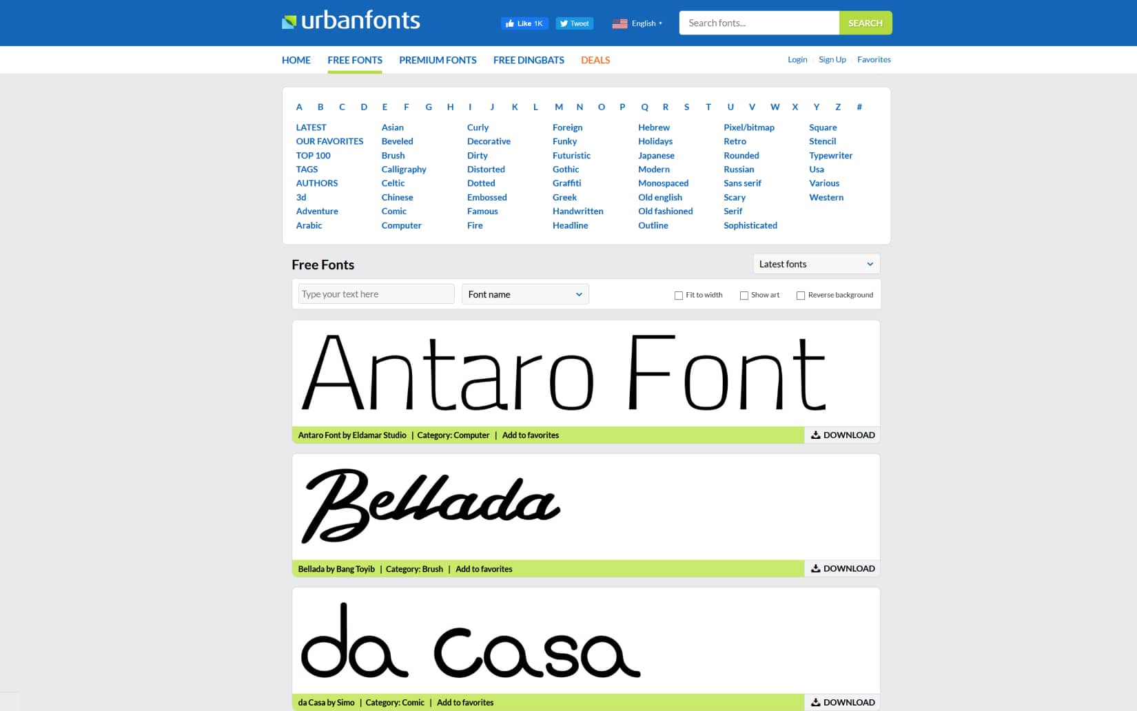 Best Resources to Download Free Fonts in 2021 - Urban Fonts