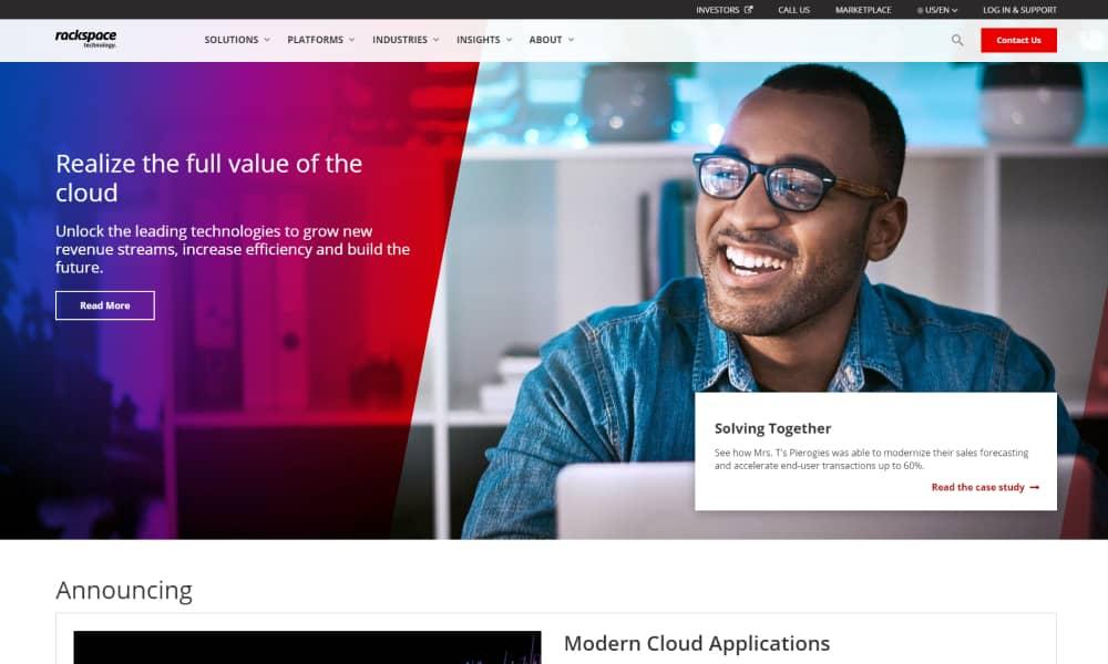 Rackspace - Best CDN providers for 2021