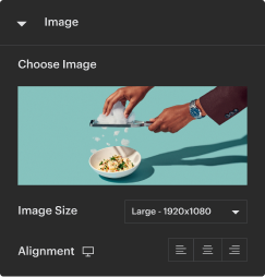 add images via the Neuron Design Builder fro your WordPress website