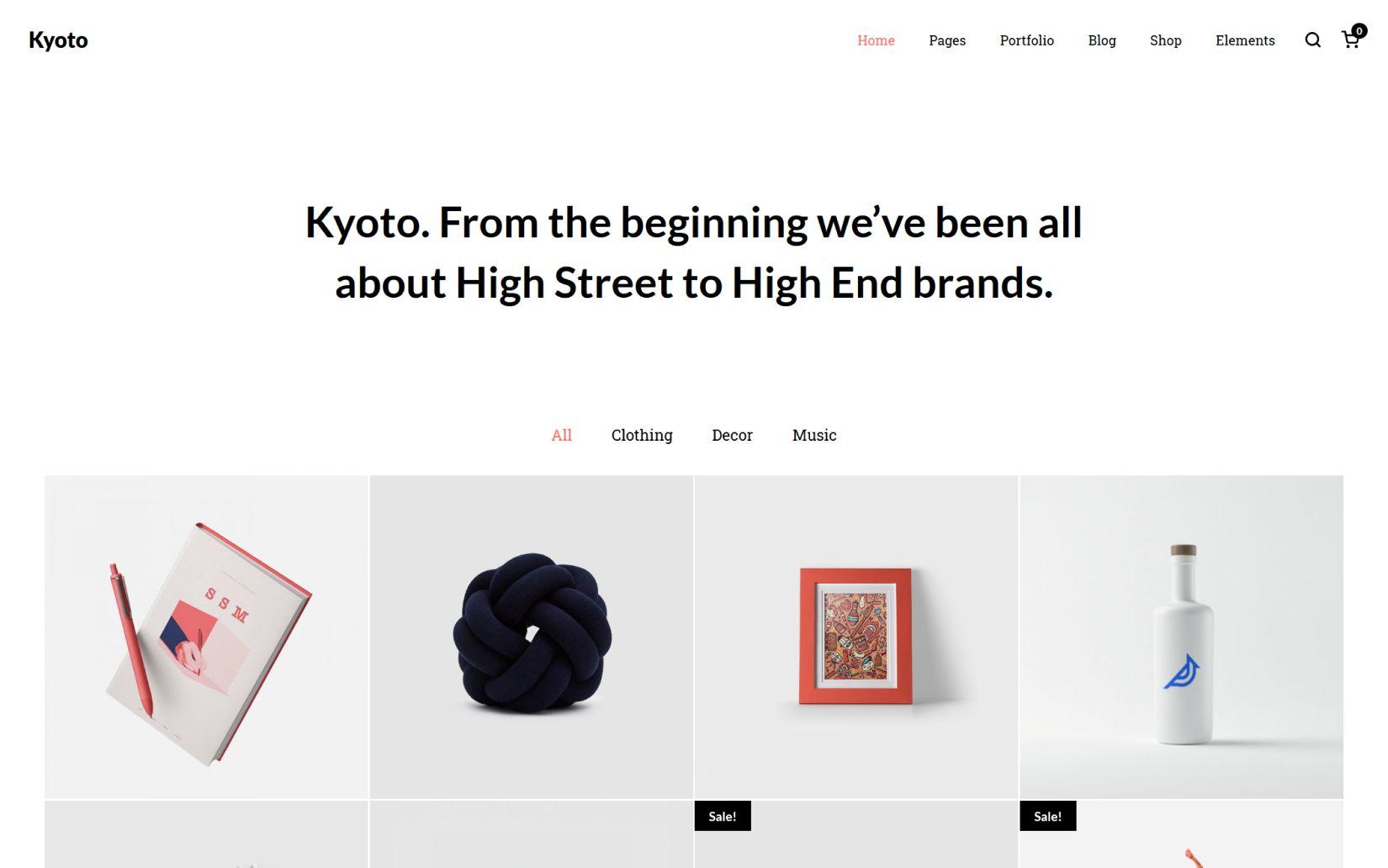 Kyoto Innovative Portfolio Theme for Creatives